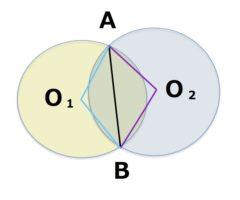 中心点 O1,O2